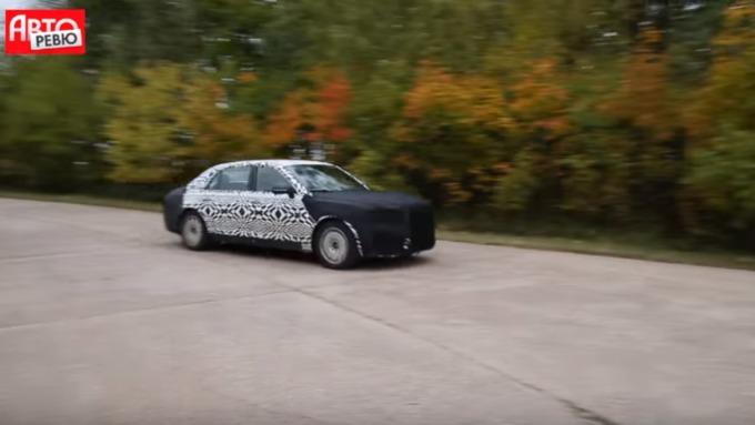 Вглобальной web-сети появилось первое видео— Лимузин для В.Путина
