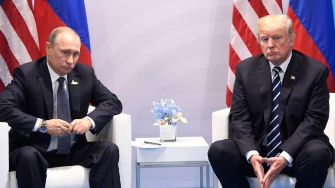 ВМИД РФ назвали одну из основных тем встречи Владимира Путина иТрампа