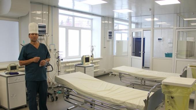 Первая палата противошоковой терапии открылась вАлтайском крае