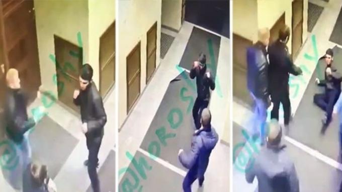 Мигрант-дебошир прорвался вуправление ФСБ вПетербурге иустроил поединок