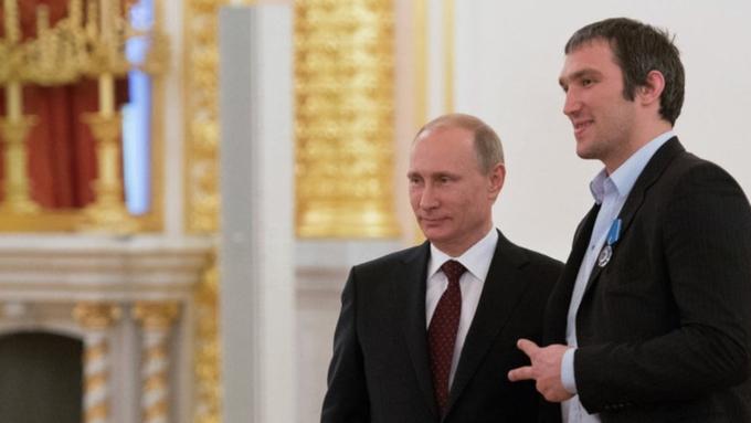 «Сайт движения Putin Team открыт»— Александр Овечкин