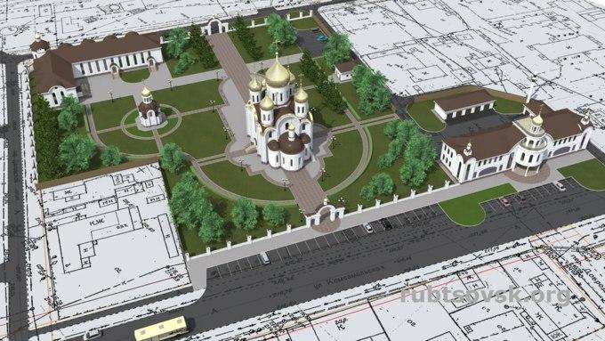 Наместе заброшенногоДК вРубцовске появится кафедральный храм — Золотые купола