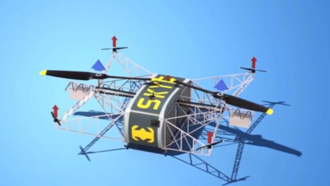 Англичане назвали казанский грузовой дрон «русским халком»