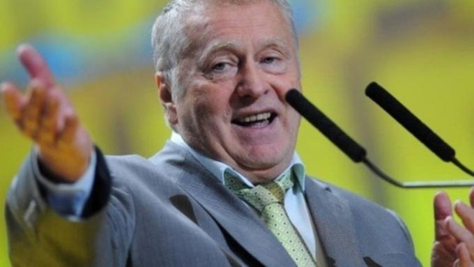 Жириновский объявил , что вслучае войны Прибалтика будет уничтожена