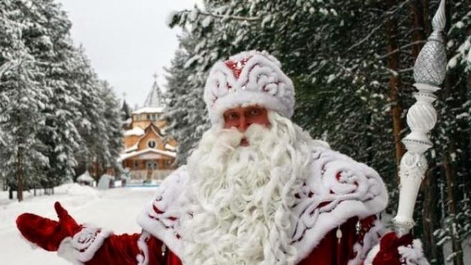Главный дедушка Мороз страны приготовил для лидера Российской Федерации подарок наНовый год