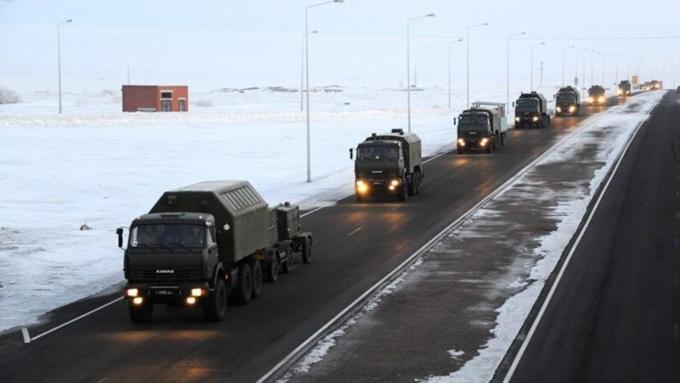 Алтайские дороги перекроют 19 и20декабря из-за военных колонн