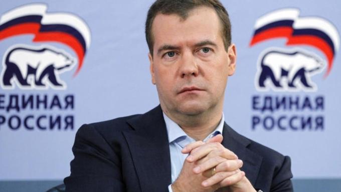 Задачи «Единой России» озвучит навсероссийском съезде партии Д. Медведев