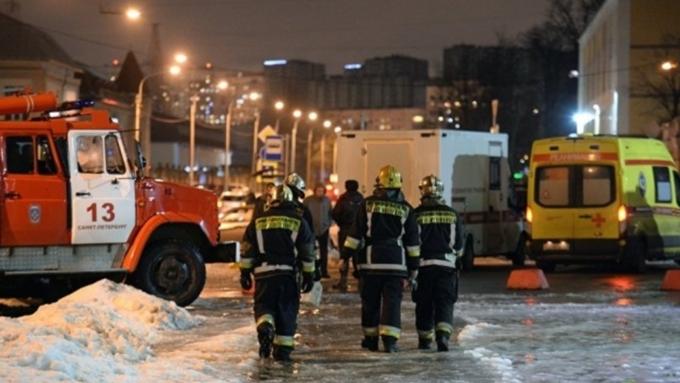 Всупермаркете Санкт-Петербурга произошел взрыв: есть пострадавшие