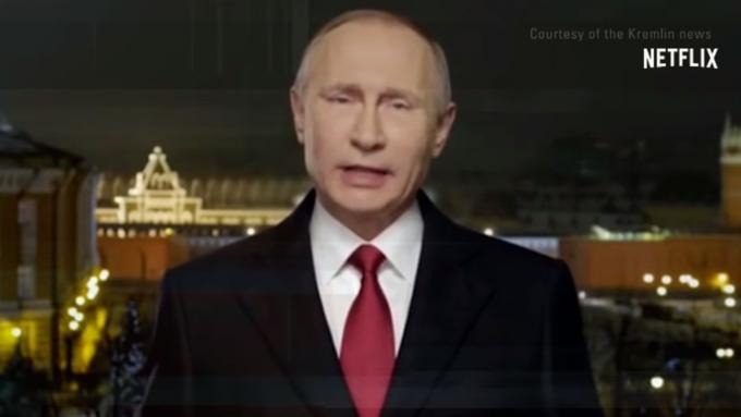 Путин поздравил американцев сНовым годом втрейлере сериала «Черное зеркало»