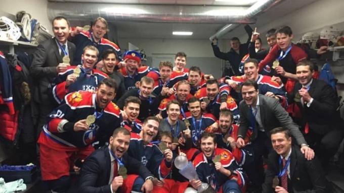 Барнаульский хоккеист всоставе сборной Российской Федерации одержал победу Кубок мира