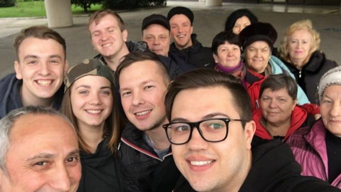 Чемпионы Серпуховской лиги КВН едут вСочи!