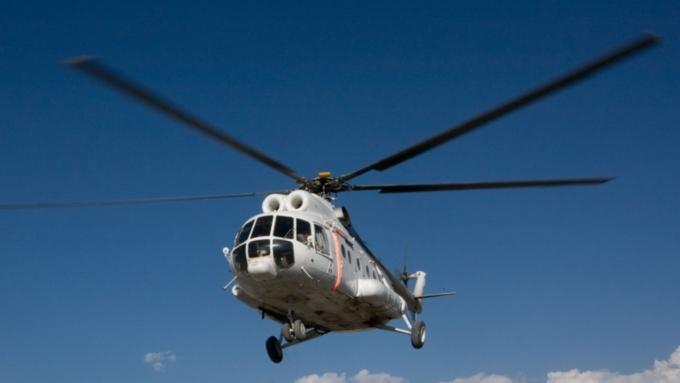 ВКрасноярском крае вертолет Ми-8 совершил жесткую посадку: есть пострадавшие