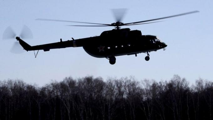 Наместе крушения Ми-8 вЧечне найдены двое выживших