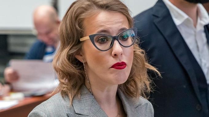 Собчак отдала голос навыборах президента