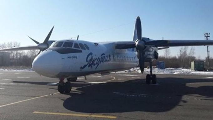 Пассажирский самолет удачно сел вЯкутске наодном двигателе
