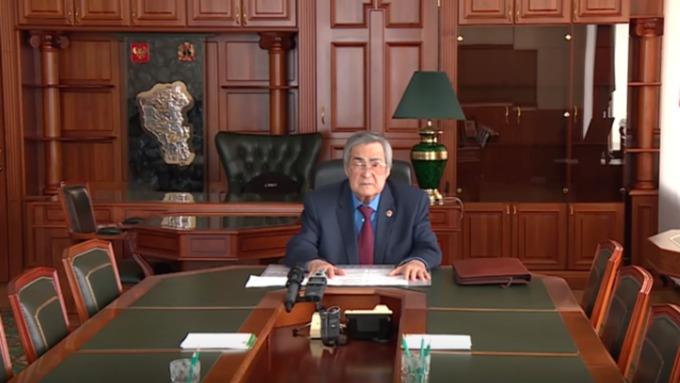 Тулеев объявил оботставке после разговора сглавойСК РФ