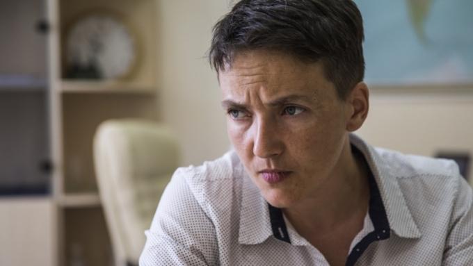 Начался допрос Надежды Савченко наполиграфе