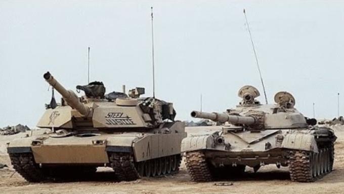 Американские специалисты  сравнили «Абрамс» иТ-90