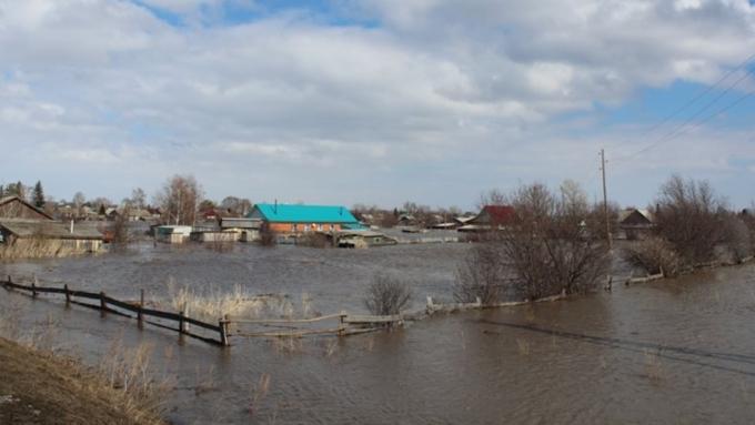 ВАлтайском крае завершилась первая волна паводка