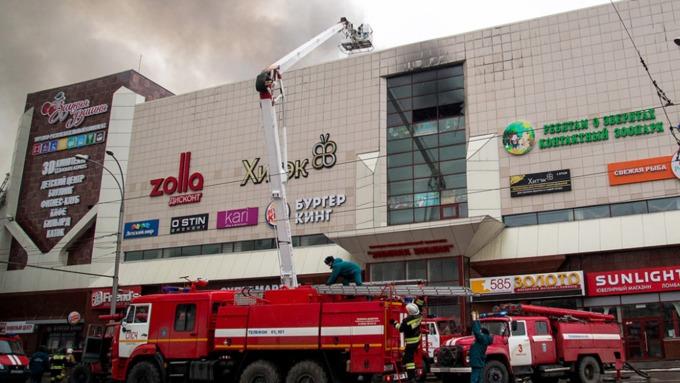 ВКремле назвали чудовищными выявленные после пожара вКемерове нарушения