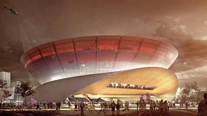Антимонопольная служба остановила конкурс попроекту Ледовой арены
