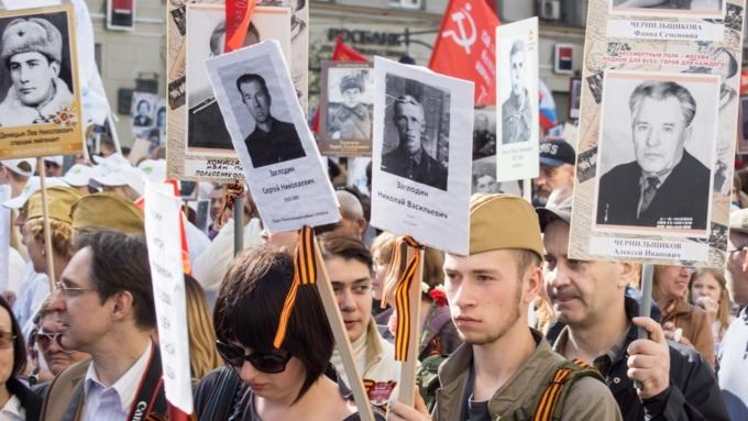 ВМинске хотят пройти «Бессмертным полком», невзирая назапрет