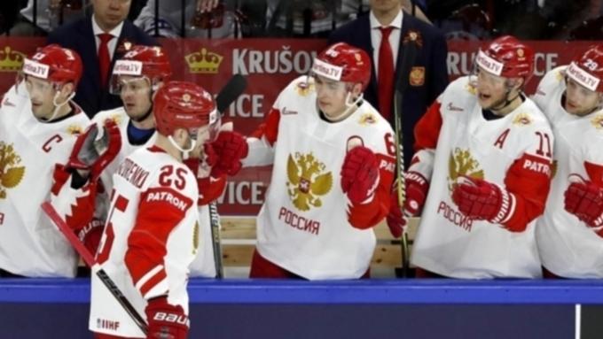 Русские  хоккеисты сыграют скомандой изШвеции