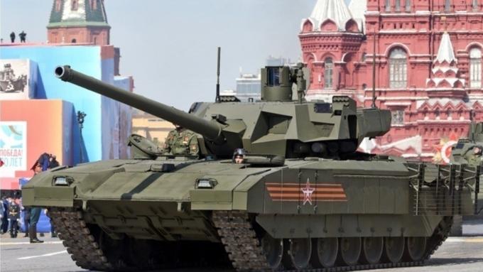 NIспрогнозировал бой русского  танка «Армата» с североамериканским  «Абрамсом» под Калининградом