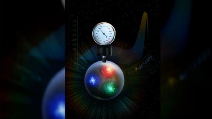 Ученые измерили давление внутри элементарной частицы