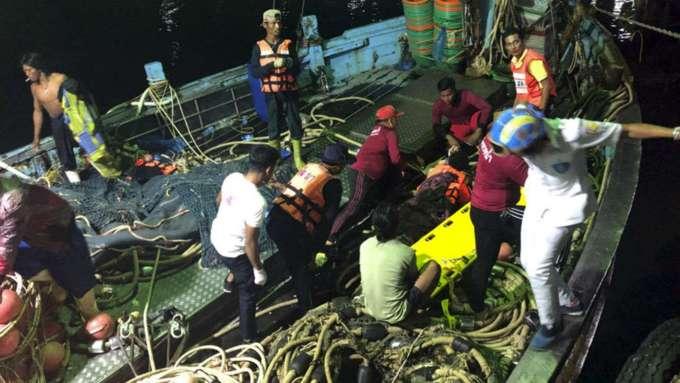 Граждан России небыло наборту потерпевшего крушение судна вТаиланде— ПосольствоРФ