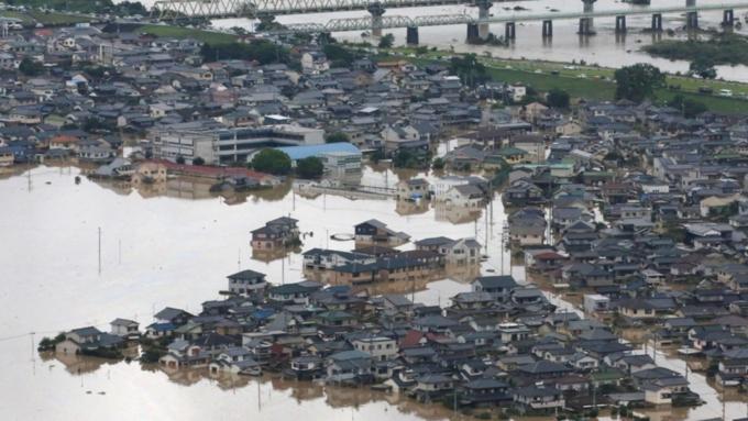 Наводнение вЯпонии: остановлены заводы Мазда и Мицубиси