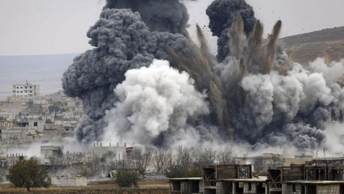 Коалицию США обвинили в ударе по мирным жителям в Сирии