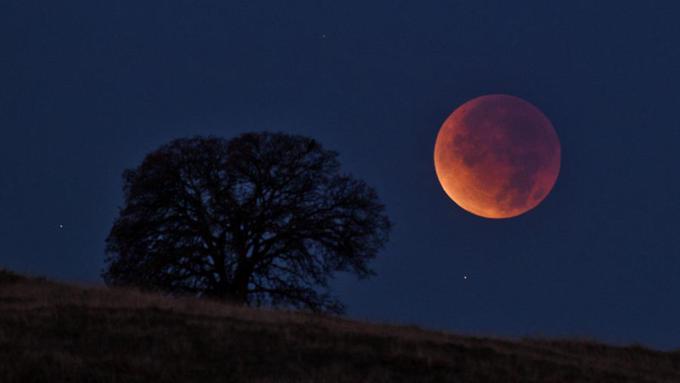Самое длинное засто лет лунное затмение увидят граждане Петербурга вконце рабочей недели
