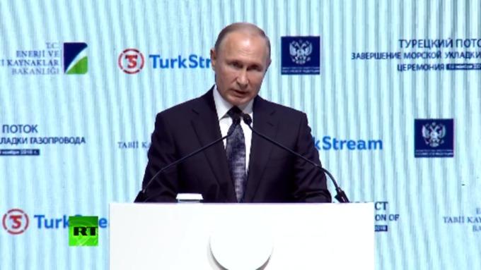 'Газпром' заканчивает строительство морского участка 'Турецкого потока'