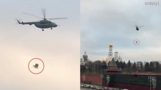 ФСО раскрыла причину взлета вертолета над Кремлем