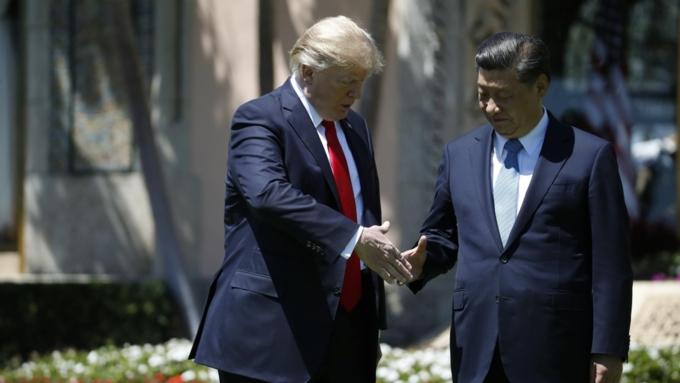Трамп объявил  остарте торговых переговоров сКитаем