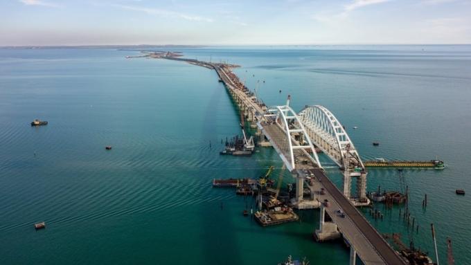 Железная дорога кКрымскому мосту подорожала практически на3 млрд руб.