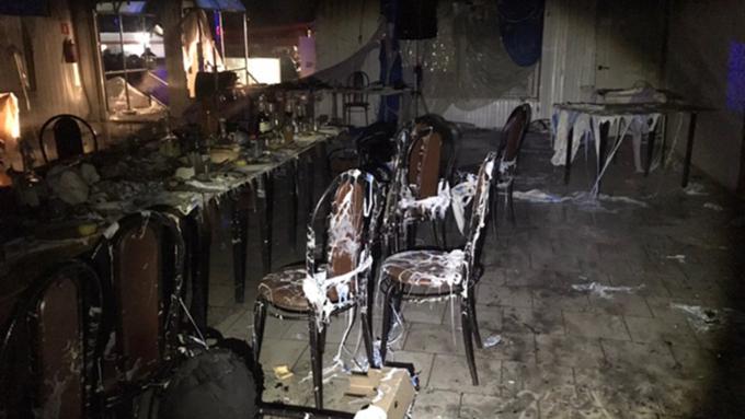 Взрыв газа вкафе под Саратовом, 40 пострадавших— ужасные  кадры