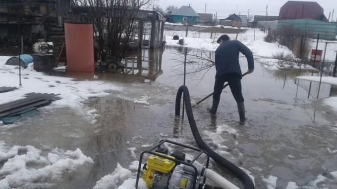 Алтайскому краю спрогнозировали сложный паводок