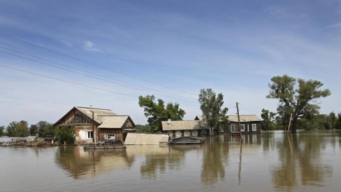 Жители улиц, расположенных в опасной зоне, предупреждены и подготовлены / Фото: rus.azattyq.org