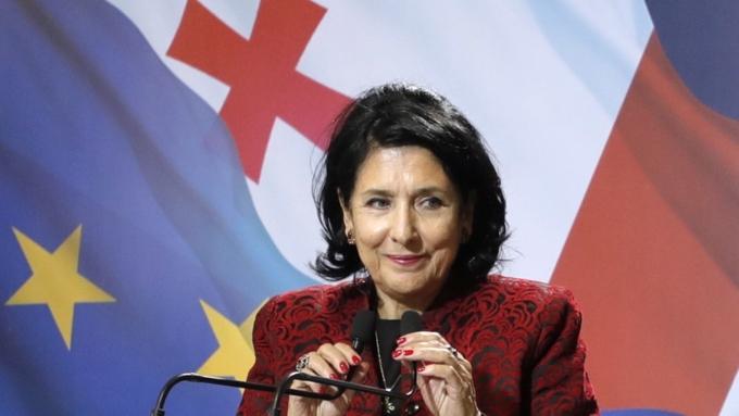 Президент Грузии рассказала, что недовольные властью – это русская 'пятая колонна' / Фото: mir24.tv