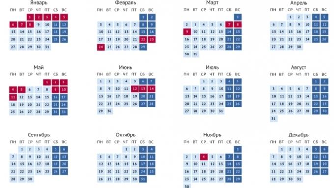 Календарь на 2020 год / Фото: vk.com/gov