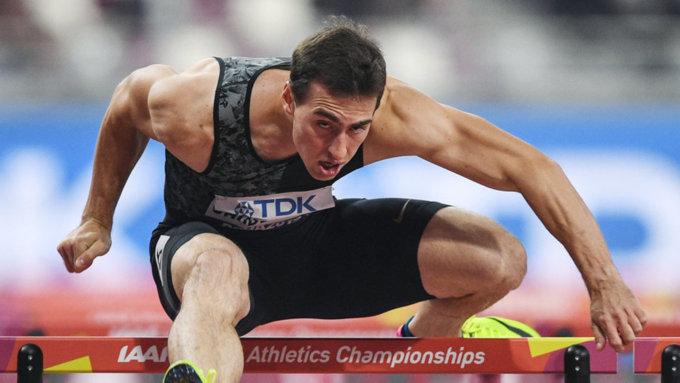 Житель россии Шубенков завоевал сереброЧМ вбеге на110м сбарьерами