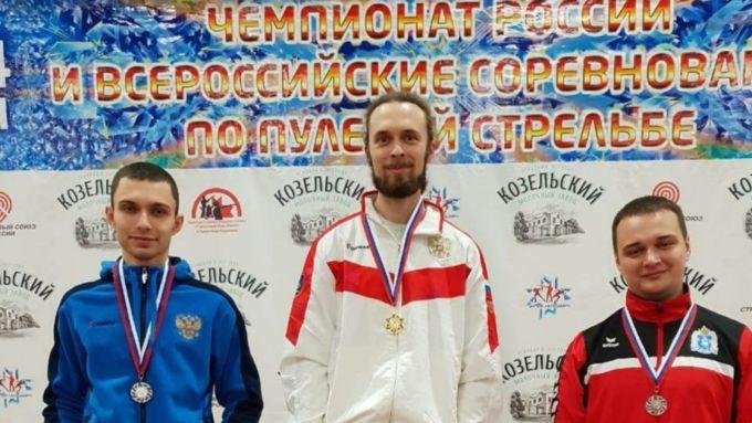 Сергей Каменский победил на Всероссийских соревнованиях по стрельбе