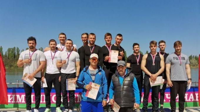 Алтайские спортсмены завоевали шесть медалей на Кубке России по гребле