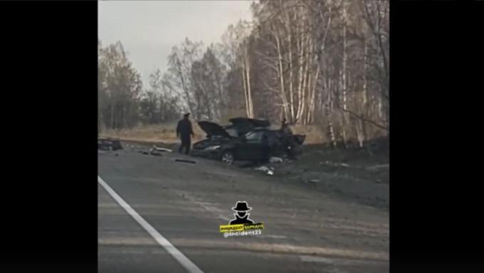 В ДТП с грузовиком в Алтайском крае погиб один человек