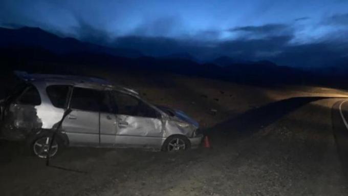 Пять человек пострадали в серьёзной аварии на Чуйском тракте