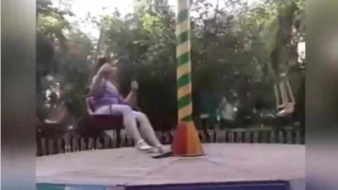 Стали известны подробности травмирования девочки в парке Новоалтайска