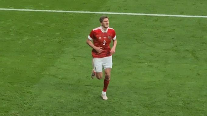 Алтайский футболист забил победный России в ворота Болгарии
