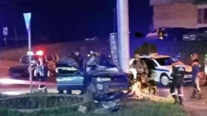 В ГИБДД рассказали подробности об аварии на малаховском кольце в Барнауле